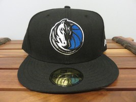 New NBA New Era Dallas Mavericks Embroidered Logo Hat SZ-7 3/4 - ₹1,795.06 INR