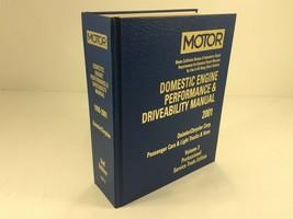 1999-2001 MOTOR Auto Engine Performance & Driveability Manual Daimler Chrysler - $124.99