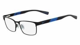Authentic Nike Eyeglasses 5575 012 Gunmetal Matte Black Frames 49MM Rx-ABLE - $53.45