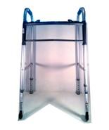 GUARDIAN WALKER 2 BUTTON FOLDING LIGHT WEIGHT MEDICAL WALKING ASSIST 30755P - $39.95