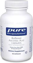Pure Encapsulations - Buffered Ascorbic Acid Capsules - Vitamin C for Sensitive