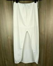 David's Bridal Women's XS White Dress Slip Wedding Formal Elastic Waistb... - $22.46 CAD