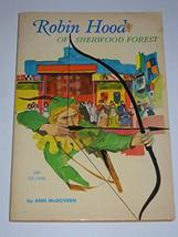 Rare Robin Hood of Sherwood Forest Ann McGovern 1968 1st Print Scholasti... - $4.94