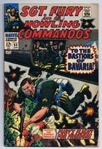 Sgt Fury and His Howling Commandos #53 ORIGINAL Vintage 1968 Marvel Comics - $14.84