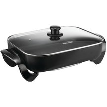 Brentwood Appliances SK-75 Electric Skillet with Glass Lid (1,400W; 16) - $69.66