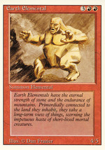 Magic: The Gathering 3rd Edition - Earth Elemental - $0.25