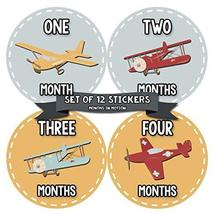 Baby Monthly Stickers | Month Stickers for Baby Boy | Baby Shower Regist... - $13.72