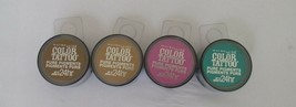 Maybelline Color Tattoo Pure Pigments Lot-4 Eyeshadow Shade 5 Jade,20,45... - $10.88