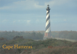 Cape Hatteras Lighthouse 1870-210 Ft Tallest In North America Unposted P... - $14.50