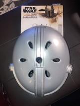Star Wars The Mandalorian Bounty Hunter Youth Bell Bicycle Helmet 3D Metallic - $44.30