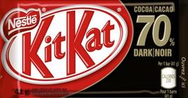 Nestle Kit Kat Dark 70% Cocoa Chocolate Bars 48 bars Canadian - $98.00