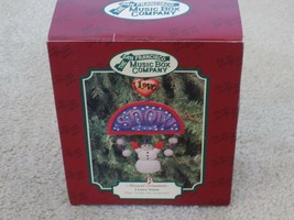 San Francisco Music Box Company Musical Ornament I Love Snow- Frosty The... - $14.82