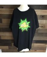The Simpsons Blinky Fish Black T Shirt Matt Groening 2003 Fox Mens Xl - $25.23