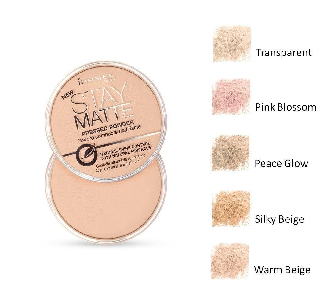 Rimmel London Stay Matte Compact Pressed Powder With Natural Minerals - $9.96