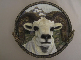 DALL SHEEP 3-D collector plate DONNA PARKER Nature's Nobility #3 - $31.99