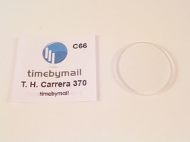 For Tag Heuer Carrera 37mm Mineral Glass Watch Crystal Replacement Part C66 - $24.22