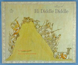 Mother Goose: Hi Diddle Diddle: A Book of Mother Goose Rhymes 1966 1st E... - $7.00