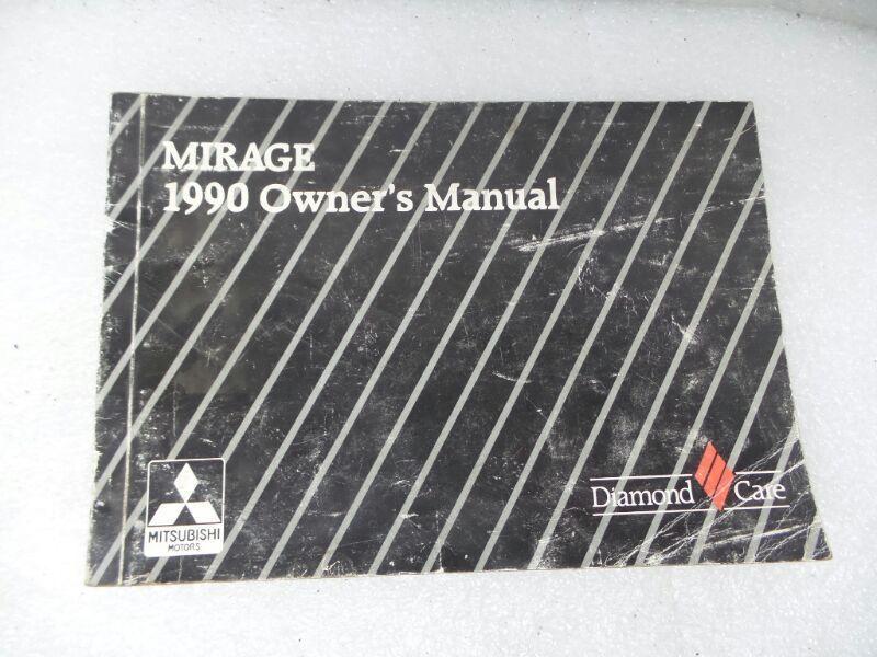 1990 mitsubishi mirage owners manual 17185 and 50 similar items rh bonanza com 1995 Mitsubishi Mirage 1995 Mitsubishi Mirage
