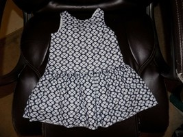 Janie And Jack White Embroidered Flower Dress Eyelet Size 18/24 Month's ... - $24.00