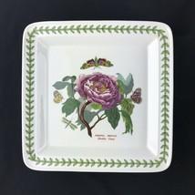 "Portmeirion Botanic Garden Square Dinner Plate Shrubby Peony Paeonia 10-1/2"" - $16.66"