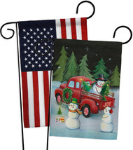 Picking Christmas Tree - Impressions Decorative USA - Applique Garden Fl... - $30.97