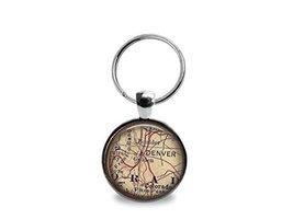 Colorado Map Keychain - $12.95