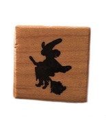 Rubber Wood Stamp Stamping Crafting PSX A-060 Halloween Samhain Flying W... - $9.89