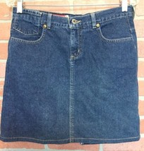 Guess Jeans Womens Denim Skirt Size 29 5 Pocket Mini (3E28) - $12.86