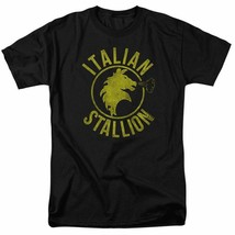 The Italian Stallion Rocky Balboa Retro 70's 80's movie graphic T-shirt MGM209B image 1