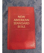 New American Standard Bible Reference Edition 1975 Moody Press Red  - $19.81