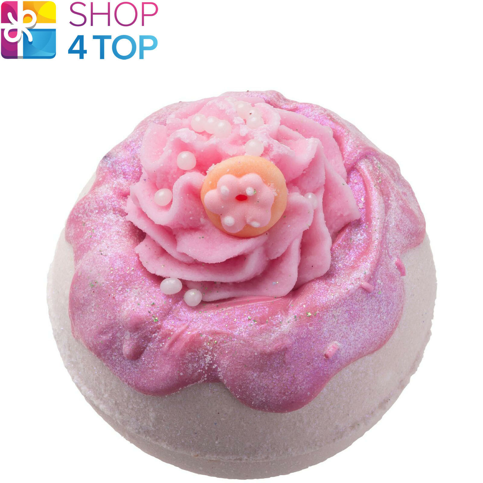 Primary image for GLAZY FOR YOU BATH BLASTER BOMB COSMETICS DOUGHNUT HANDMADE NATURAL NEW