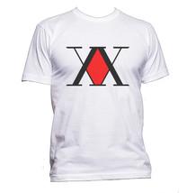 Hunter x hunter logo Men Tee T-shirt WHITE - $18.00