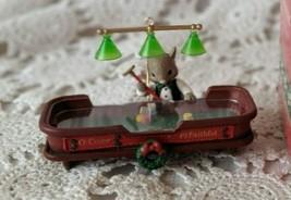 """ENESCO 90s Vintage Mouse Christmas Ornament """"O' Come All Ye Faithful"""" Vintage VG - $29.09"""