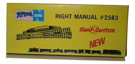 "Atlas ""N"" Gauge Right Manual Switch, #2583  Snap-Switch, New"