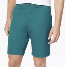 "Tommy Hilfiger 9 Inch Shorts ""Ocean Depths"" Aqua Green Mens Size 36 Bran... - $35.41"