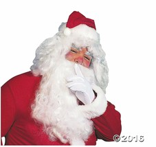 "Adult's Santa Full-size Wig and 13"" Beard.  Christmas Santa Claus Costume - $18.00"