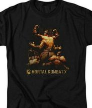 Mortal Combat X Fighting video game Quan Chi graphic adult t-shirt WBM469 image 3