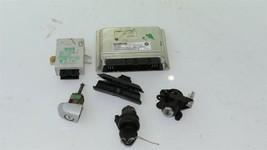 01 BMW 325Ci E46 MT 5sp M54 ECU ECM EWS DME Ignition Trunk Door GloveBox Key image 1