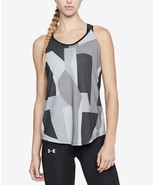 Under Armour Speed Stride Printed Strappy-Back Tank Top,1309663, Size S,... - $21.49