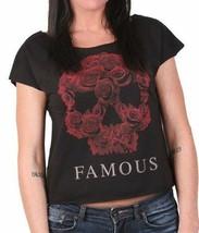Noto Stars E Cinghie Donna Rosa Soul Dolman Manica Corta T-Shirt Piccolo Nwt