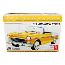Skill 3 Model Kit 1955 Chevrolet Bel Air Convertible 2 in 1 Kit 1/16 Sca... - $66.12