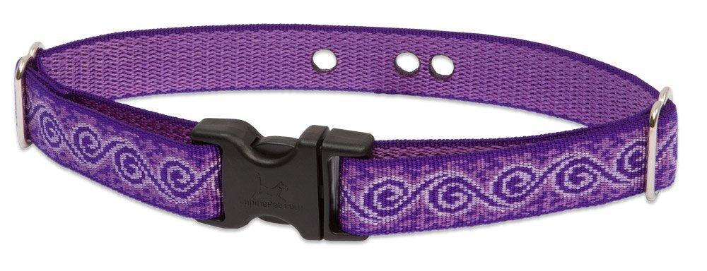 "LupinePet Originals 1"" Jelly Roll 19-31"" Containment Collar Strap for Large Dogs"