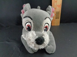 Disney Lady And The Tramp Beanie Tramp Laying Down Plush Stuffed Animal Toy Doll - $9.89