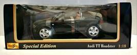 Maisto 1:18 Black Audi TT Roadster Model Car - $60.00