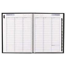 At-A-Glance Hardcover Weekly Appointment Book 8 x 11 Black 2019 G520H00 - $29.40