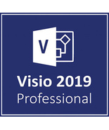 Microsoft Visio Professional 2019 Key & Download - $19.90