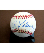 AL KALINE DETROIT TIGERS HOF 3000 HIT CLUB SIGNED AUTO OML BASEBALL JSA ... - $118.79