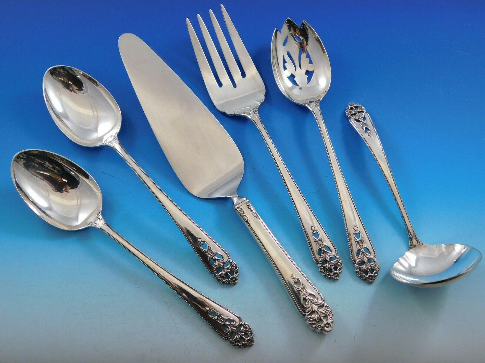 Primary image for Angelique by International Sterling Silver Essential Serving Set Large 5pc