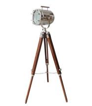 NauticalMart Marine Chrome Finish Searchlight Vintage Floor Lamp - $159.00