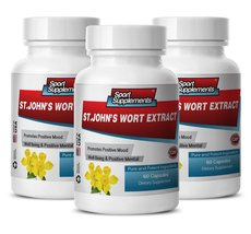 Mood support supplement - ST JOHN'S WORT EXTRACT for POSITIVE MOOD and W... - $34.95